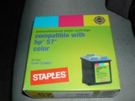 HP C6657AN Ink Cartridge, Tri-Color - Hp 57