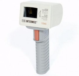 INTERMEC HAND HELD 1545 BAR CODE LASER SCANNER