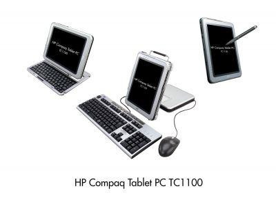 HP Compaq Tablet PC TC1000, TC1100