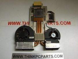 HP PAVILION ZE5000 SERIES ZE5250 DUAL FANS AND HEATSINK
