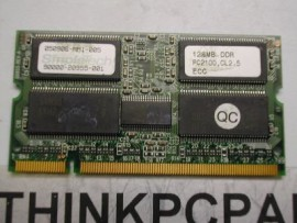 128mb SIMPLETECH PC2100 128M LAPTOP MEMORY SODIMM CL2.5  EEC # 050906-MM1-005 90000-20955-001