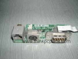 Sony PCG-F350 Modem PS/2 & Serial Port Board 1-673-387-11