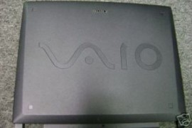 SONY VAIO LCD BACK BEZEL COVER PART #  4-647-504