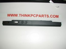 Toshiba Satellite 1415-S173 Power Button Panel - keyboard Cover / Holder Assembly - P000347690