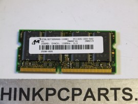256mb TOSHIBA SATELLITE 2800 S201 S202 PC133 144PIN SODIMM MT8LSDT3264HG-133B1