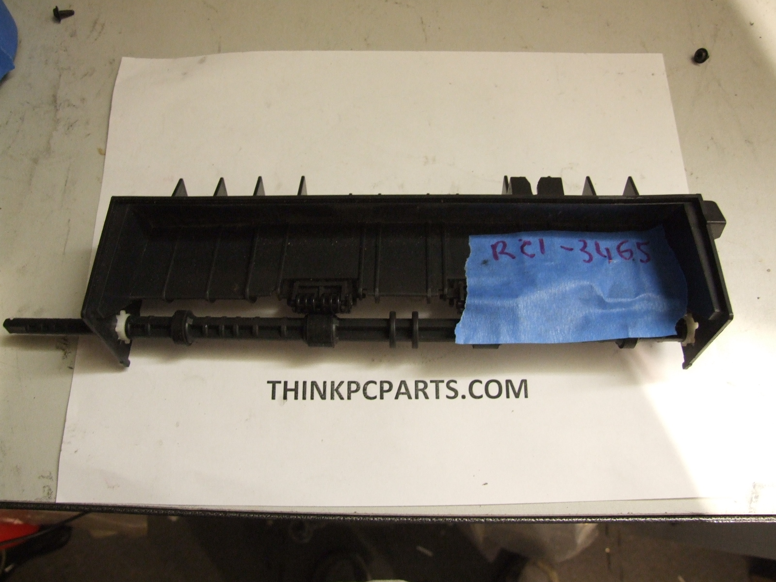 HP LASERJET P2015 P2015D P2015DN FPAPER GUIDE WITH ROLLERS RC1-3465