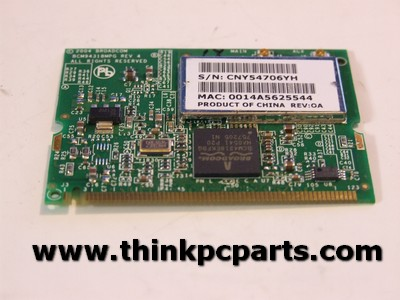 HP PAVILION DV4000 (DV4305US) MINI PCI WIFI BROADCOM